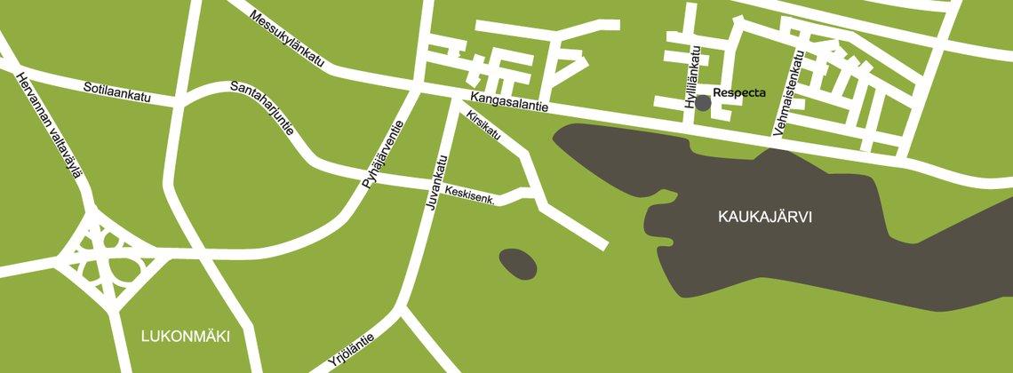 Logistiikkakeskus Tampere Respecta